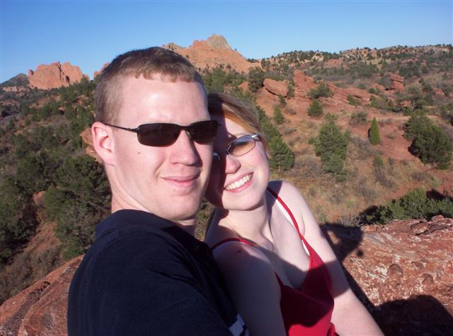 Us at Garden of the Gods